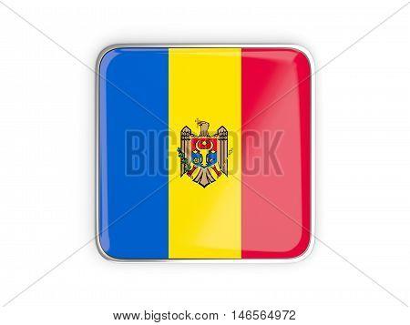 Flag Of Moldova, Square Icon