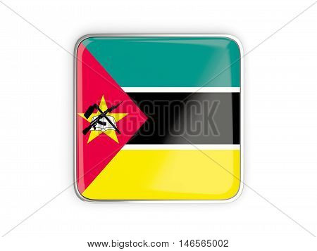 Flag Of Mozambique, Square Icon