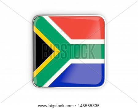 Flag Of South Africa, Square Icon