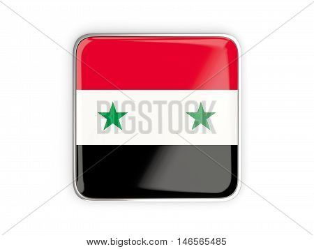 Flag Of Syria, Square Icon