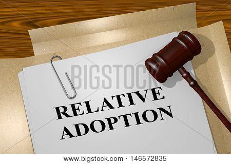 Relative Adoption - Legal Concept