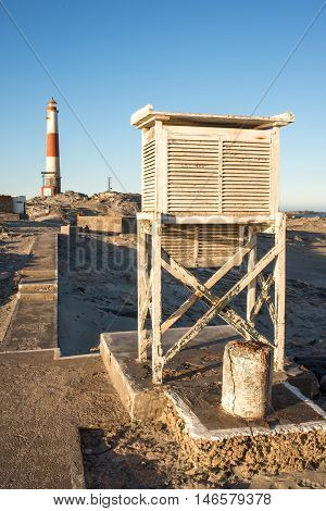 Weather Box At Lighthouse