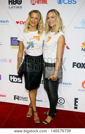 Brittany Daniel and Cynthia Daniel at the 5th Biennial Stand Up To Cancer held at the Walt Disney Concert Hall in Los Angeles, USA on September 9, 2016.