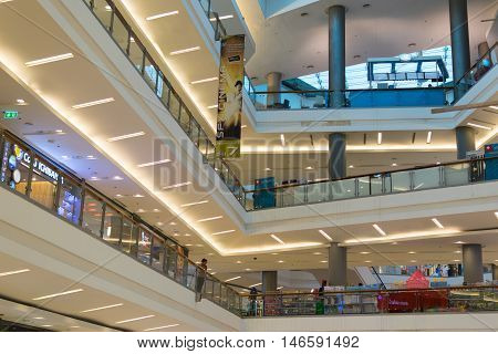 Department Store Or Shopping Mall