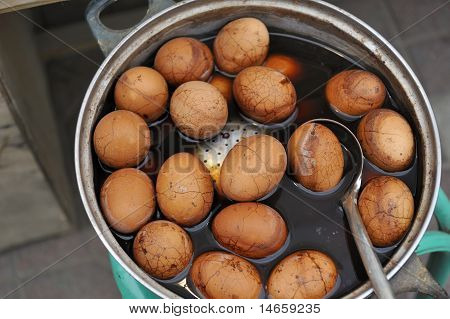 Chinese Tea Eggs