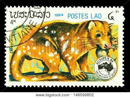 Laos - Circa 1984