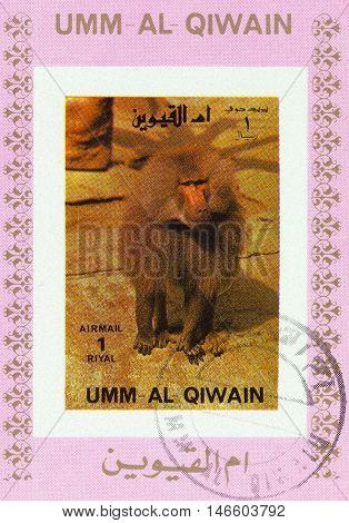 Manama Qiwain- Circa 1972