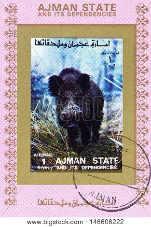 Manama Ajman - Circa 1972