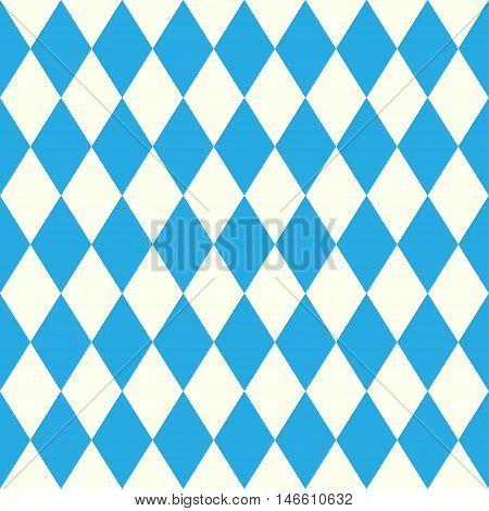 Oktoberfest design on white background. German text celebration abstract fabric Oktoberfest blue background. Bavarian munich Oktoberfest blue background banner pattern .