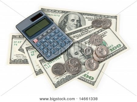 Calculator And Us Money