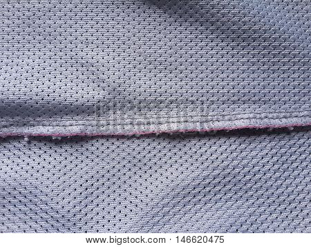 close up seam textile texture for background