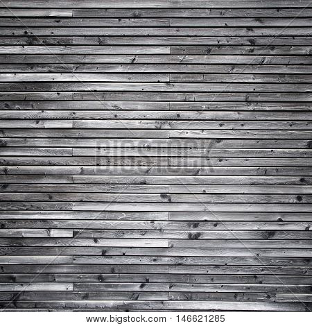 Gray wood wall background with gradient - square tile