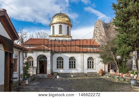 Golden Dome of The Fish Church, St. Mary the Annunciation, Asenovgrad,  Plovdiv Region, Bulgaria