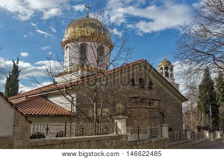 Amazing view of The Fish Church, St. Mary the Annunciation, Asenovgrad,  Plovdiv Region, Bulgaria