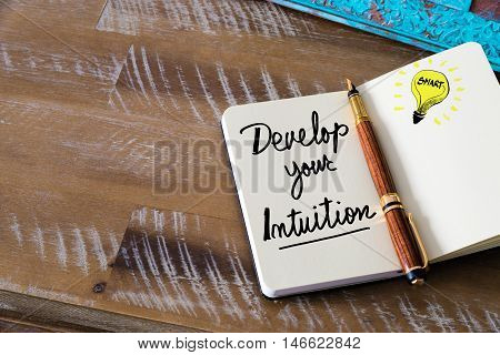 Written Text Develop Your Intuition