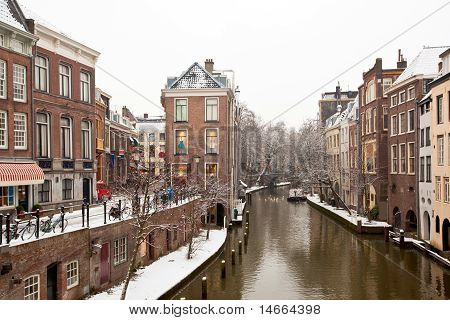Utrecht Winter View
