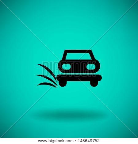 Car service, auto repair. car icon