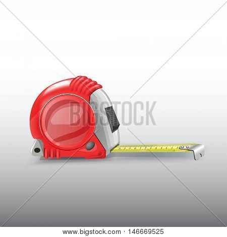 measuring tool length millimeters centimeters meters vector image