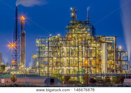 Industrial Chemical Plant Framework Overview