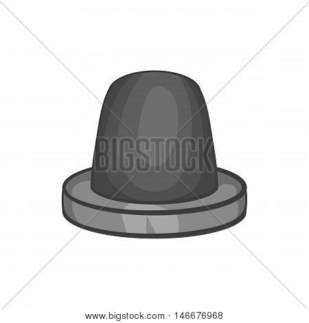 Siren icon in black monochrome style isolated on white background. Equipment symbol vector illustration