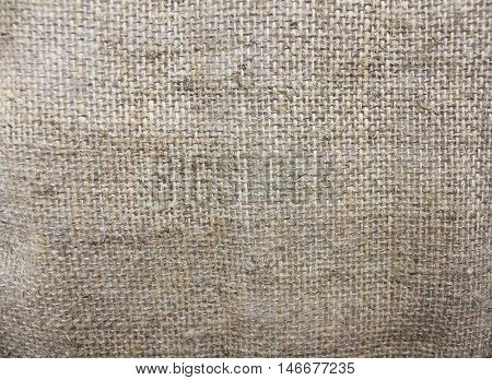 Cloth background sack sacking country light brown fabric texture natural pattern