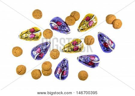 Bunch Of Ginger Nuts And Chocolate Mice