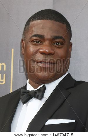 LOS ANGELES - SEP 10:  Tracy Morgan at the 2016 Creative Arts Emmy Awards - Day 1 - Arrivals at the Microsoft Theater on September 10, 2016 in Los Angeles, CA