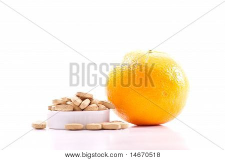 Too Many Pills Only One Orange