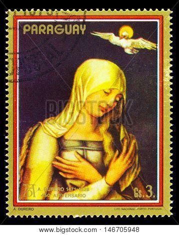 Paraguay- Circa 1979: