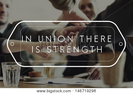 Union Strength Planning Success Theory Unity Concept