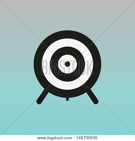 Aim vector sign. Aim vector illustration logo.