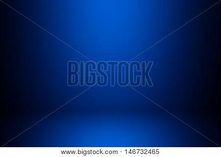 dark blue gradient background / blue radial gradient effect wallpaper
