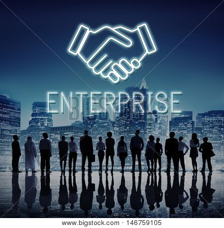 Partnership Agreement Cooperation Collaboration Concept