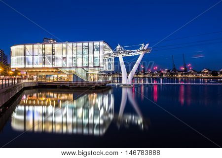 The Emirates Air Line Or Thames Cable Car