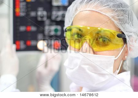 Pharmaceutical Technician At Work
