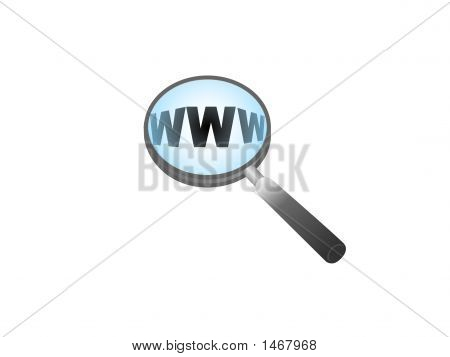Http In Magnifying Glass