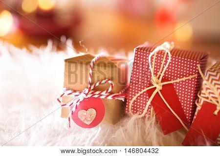 Small Christmas Gifts At Night