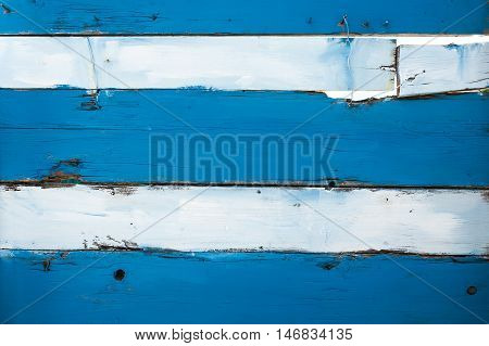 Blue and white wooden image for your background