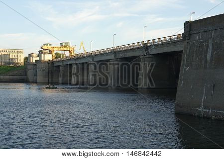 hydroelectric, power, dam, station, water, industry, concrete, energy, fuel,