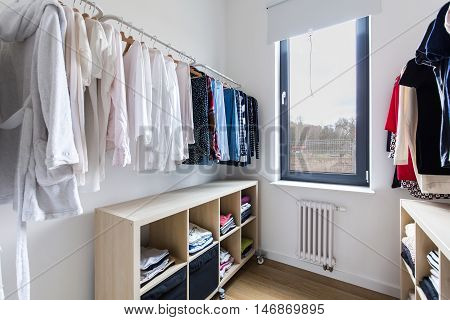 Functionality And Light Create The Perfect A Dressing Room