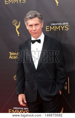 LOS ANGELES - SEP 11:  Chris Parnell at the 2016 Primetime Creative Emmy Awards - Day 2 - Arrivals at the Microsoft Theater on September 11, 2016 in Los Angeles, CA