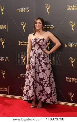 LOS ANGELES - SEP 11:  Chelsea Peretti at the 2016 Primetime Creative Emmy Awards - Day 2 - Arrivals at the Microsoft Theater on September 11, 2016 in Los Angeles, CA