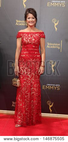 LOS ANGELES - SEP 11:  Lisa Waltz at the 2016 Primetime Creative Emmy Awards - Day 2 - Arrivals at the Microsoft Theater on September 11, 2016 in Los Angeles, CA
