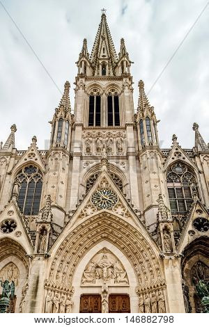 Beautiful Cathedral Church In Nancy, France