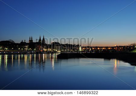 Koblenz City Germany with historic German Corner where Rhine and moselle flow together 7