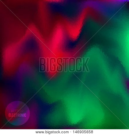 Vector color blur background. Abstract texture. Electronic design background