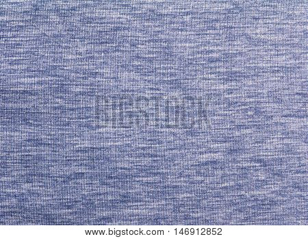 Heather purple polyester sportwear knitted fabric texture