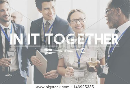 In it Together Unity Support Community Friendship Concept