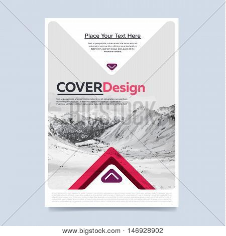 Brochure cover design template set. Layout of brochure design. Brochure template. Brochure design. Creative brochure design. Business template of brochure or flyer. Annual report design. Flyer design. Brochure layout. Colorful brochure design template.