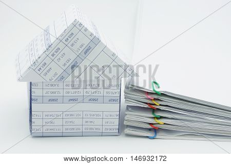 House And Pile Overload Document